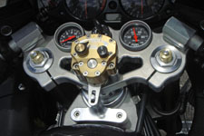 Suzuki Hayabusa Dual Gauge Mount Triple Tree